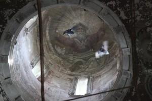 Роспись центрального купола Спасо-Преображенского собора